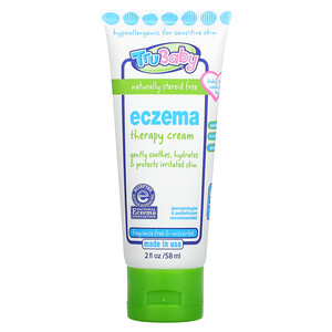 TruKid, TruBaby, Eczema Therapy Cream, Unscented, 2 fl oz (58 ml)