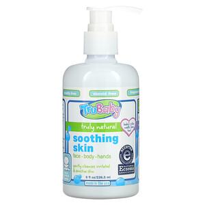 TruKid, TruBaby, Soothing Skin Wash, Fragrance Free, 8 fl oz (236.5 ml)