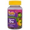 Treehouse Kids, Franklin and Friends, Gummies, Vitamin D3, Natural Fruit Flavors , 400 IU, 60 Gummies