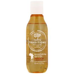 Treets, Nourishing Spirits, Miracle Oil, Sweet Melon, 5.07 fl oz (150 ml) отзывы