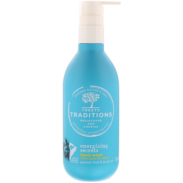 Treets, Energising Secrets, Hand Wash, Passion Freshness, 10.14 fl oz (300 ml)