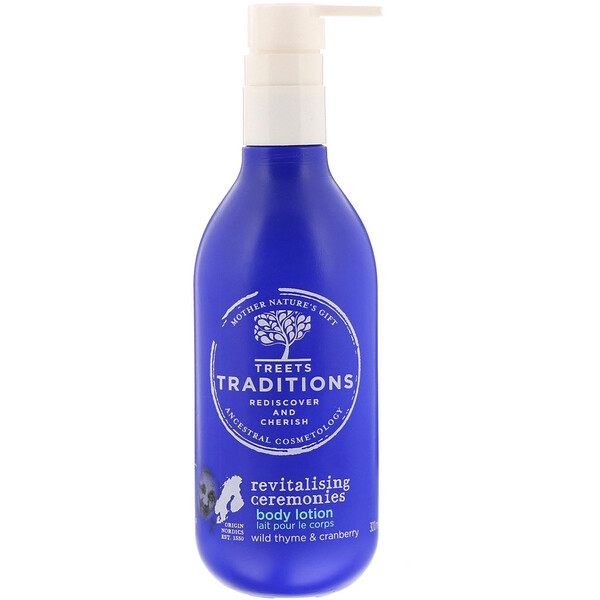 Treets, Revitalising Ceremonies, Body Lotion, Refreshing Eucalyptus, 10.14 fl oz (300 ml)
