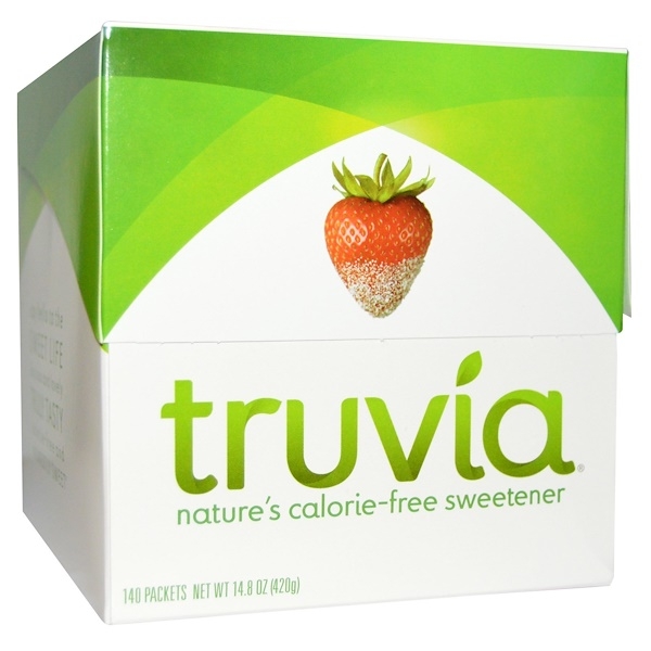 Truvia, Nature's Calorie-Free Sweetener, 140 Packets, 3 g Each