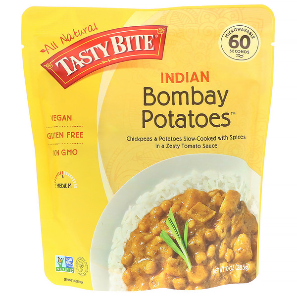 Tasty Bite, Indian, Bombay Potatoes, 10 oz (285 g)