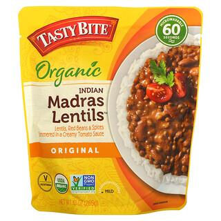 Tasty Bite, Organic Indian Madras Lentils, Original, Mild, 10 oz (285 g)