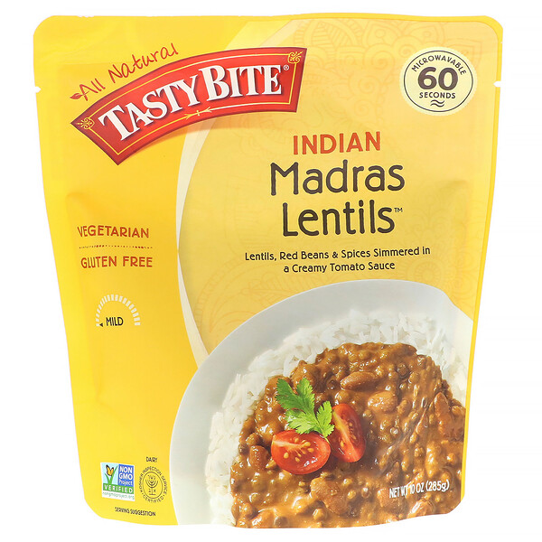 Tasty Bite, Indian, Madras Lentils, 10 oz (285 g)