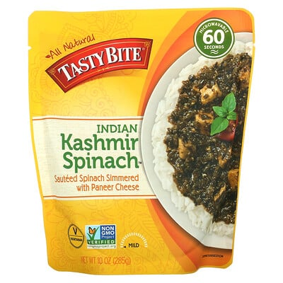 Tasty Bite Indian, Kashmir Spinach, Mild, 10 oz (285 g)