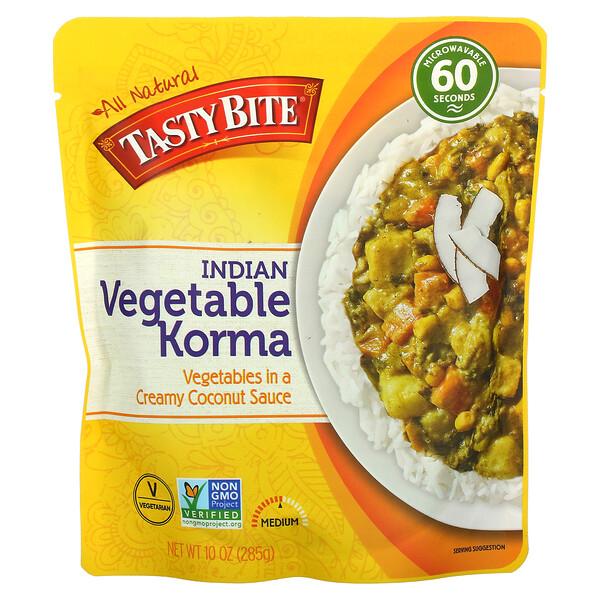 Tasty Bite, Indian Vegetable Korma, Medium, 10 oz (285 g)