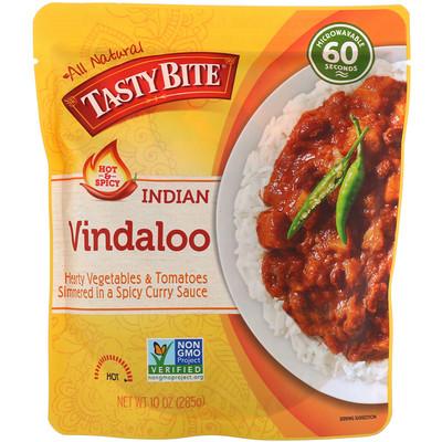 Tasty Bite Indian, Vindaloo, Hot & Spicy, 10 oz (285 g)