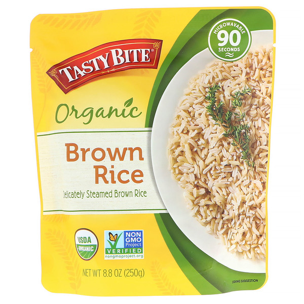 Tasty Bite, Organic, Brown Rice, 8.8 oz (250 g) (Discontinued Item)