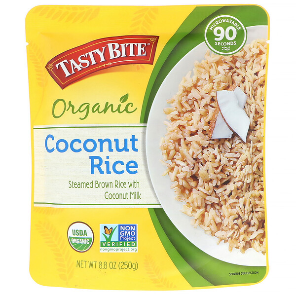 Tasty Bite, Organic, Coconut Rice, 8.8 oz (250 g) (Discontinued Item)