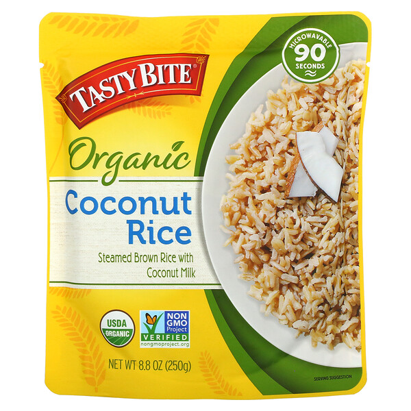 Organic Coconut Rice, 8.8 oz (250 g)