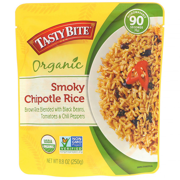 Tasty Bite, Organic, Smoky Chipotle Rice, 8.8 oz (250 g)