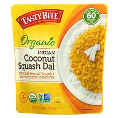 Tasty Bite, 印度椰子南瓜有機木豆糊,溫和,10 盎司(285 克)