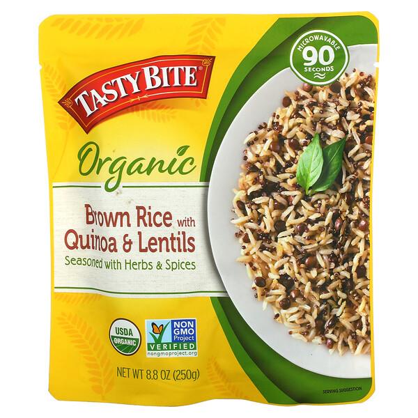 Organic Brown Rice with Quinoa & Lentils, 8.8 oz (250 g)