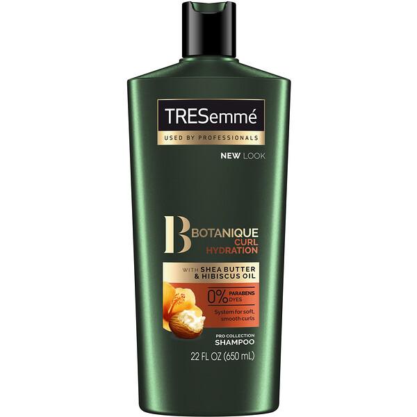 Tresemme, Botanique, Curl Hydration Shampoo, 22 fl oz (650 ml)