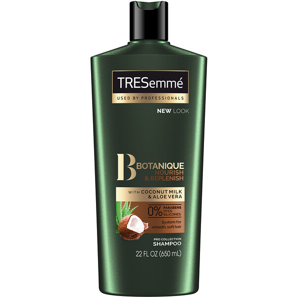 Tresemme, Botanique, Nourish & Replenish Shampoo, 22 fl oz (650 ml)