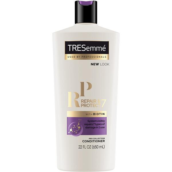 Tresemme, بلسم Repair & Protect 7 لإصلاح وحماية الشعر، 22 أونصة سائلة (650 مل)