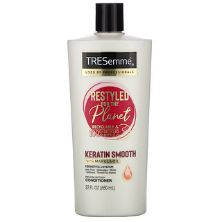Tresemme, Keratin Smooth with Marula Oil Conditioner, 22 fl oz (650 ml)