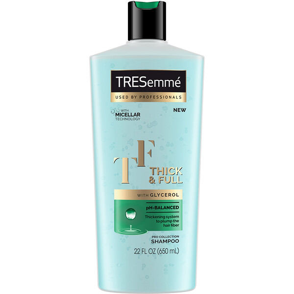 Tresemme, Thick & Full Shampoo, 22 fl oz (650 ml)