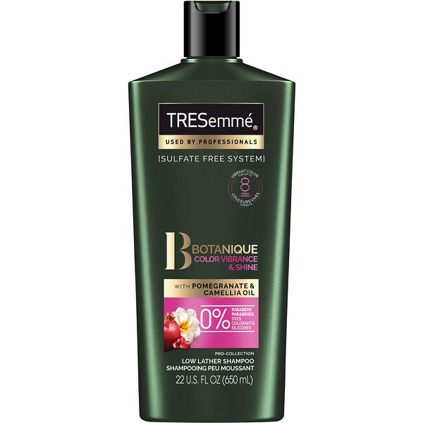 """Tresemme, Botanique, שמפו לשיער צבוע מבריק ובריא, 650 מ""""ל (22 אונקיות נוזל)"""