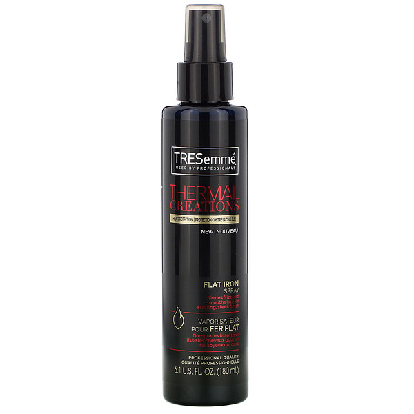 Tresemme, Thermal Creations, Flat Iron Spray, 6.1 fl oz (80 ml)