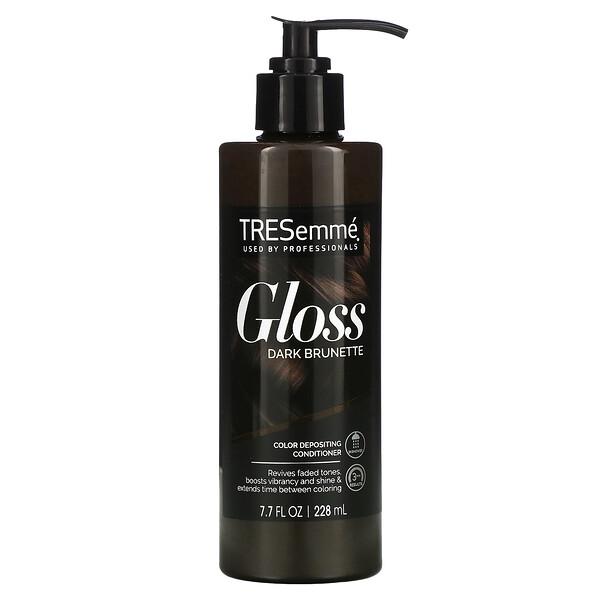 Gloss, Color Depositing Conditioner, Dark Brunette, 7.7 fl oz (228 ml)