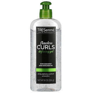 Tresemme, Flawless Curls Defining Gel, With Coconut and Avocado Oil, 8 oz (226 g)