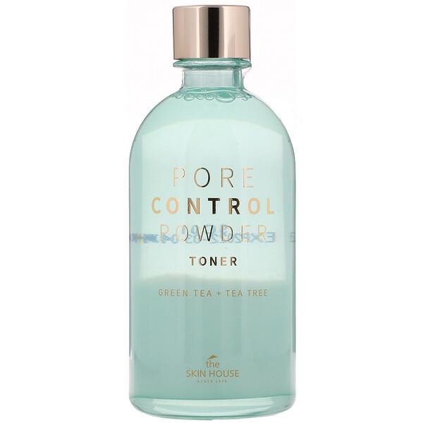 Pore Control Powder Toner, Green Tea + Tea Tree, 130 ml