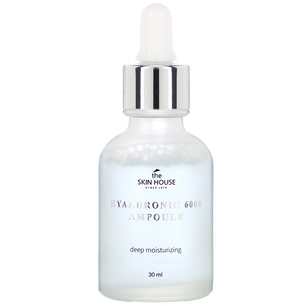The Skin House, Hyaluronic 6000 Ampoule, 30 ml