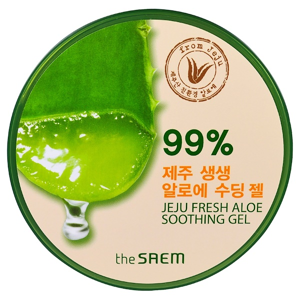 The Saem, Jeju Fresh Aloe Soothing Gel, 10.14 fl oz (300 ml) (Discontinued Item)