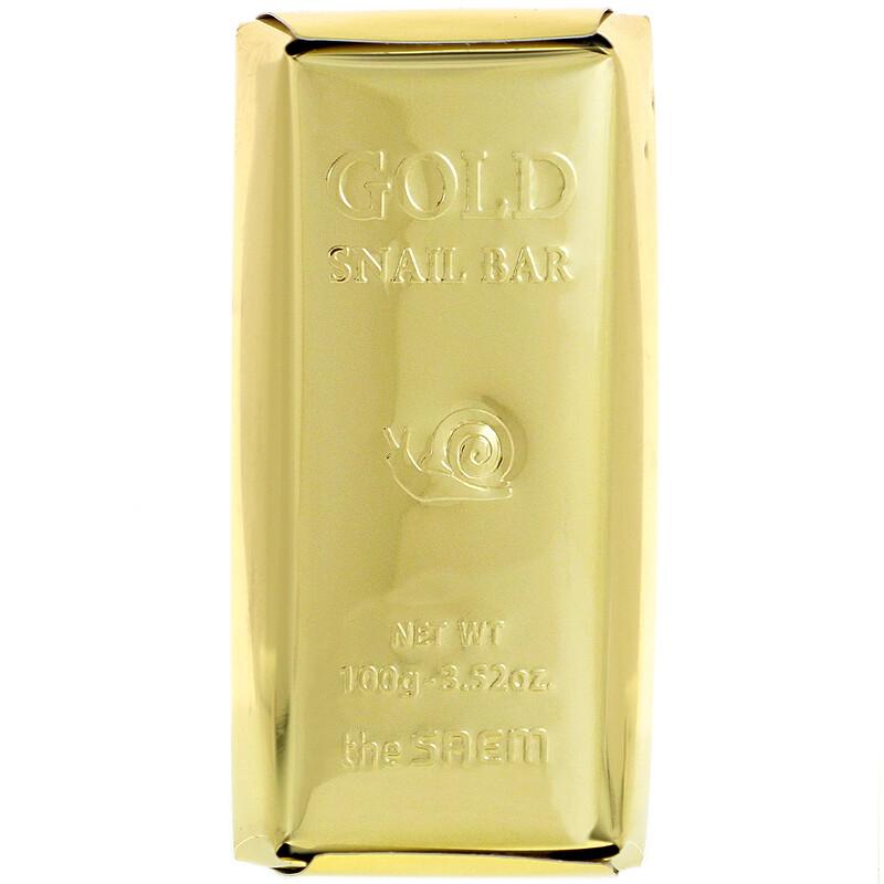 Gold Snail Bar, 3.52 oz (100 g)