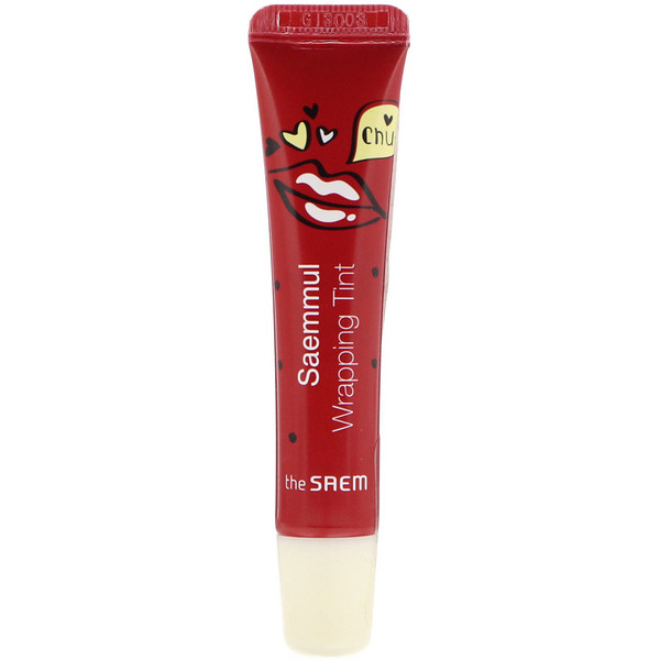 The Saem, Saemmul Wrapping Tint, RD02 Real Red, 0.52 fl oz (15 g) (Discontinued Item)