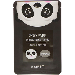 The Saem, Zoo Park, Moisturizing Panda Mask, 1 Mask, 0.84 fl oz (25 ml)