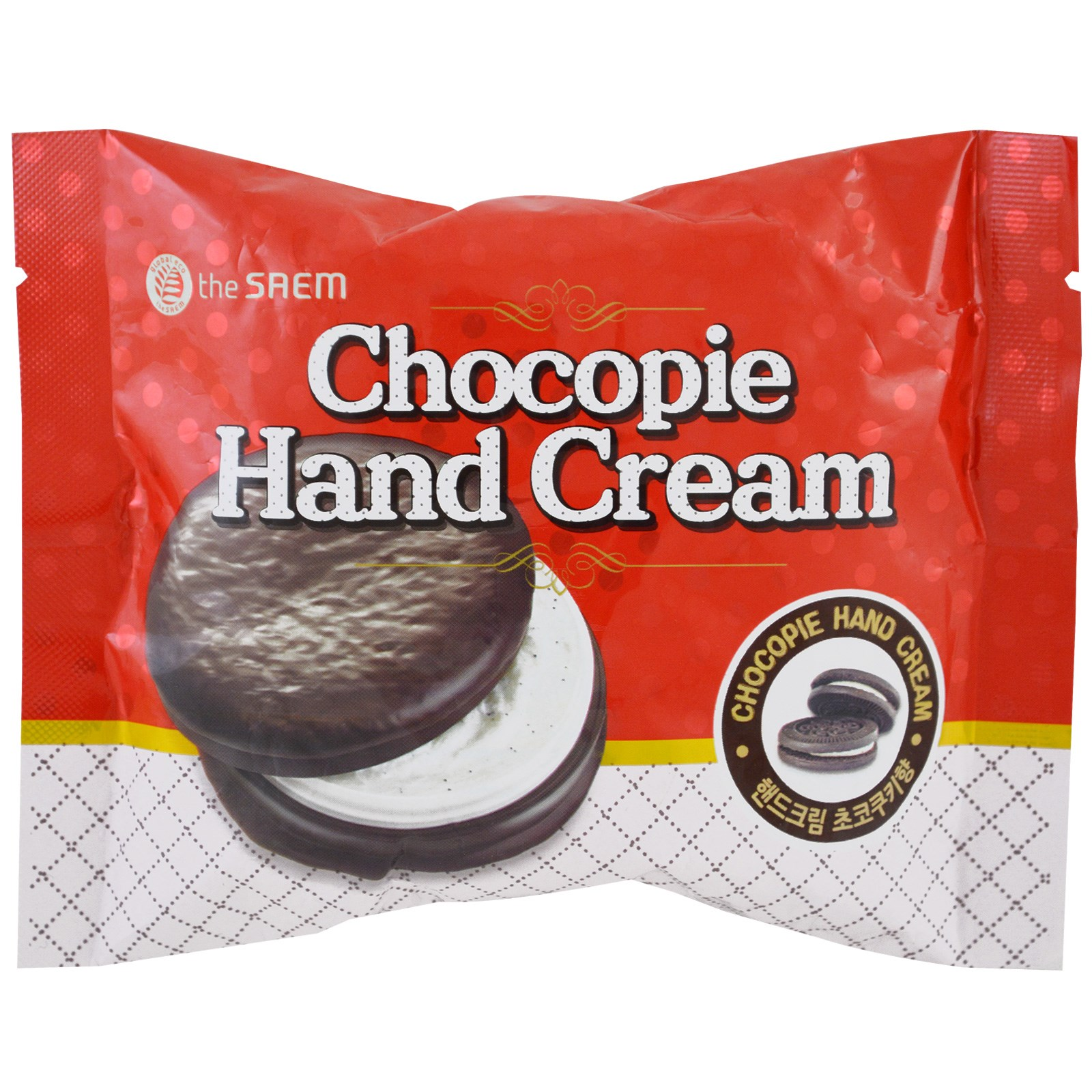The Saem, Chocopie Hand Cream, Cookies & Cream, 1.18 fl oz (35 ml)