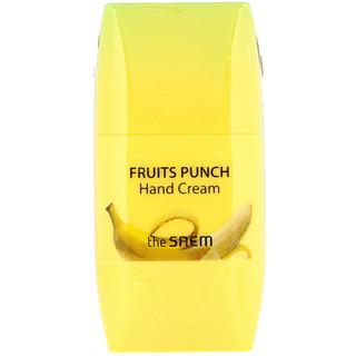 The Saem, Fruits Punch Hand Cream, Banana, 1.69 fl oz (50 ml)