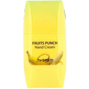 Зе Саим, Fruits Punch Hand Cream, Banana, 1.69 fl oz (50 ml) отзывы