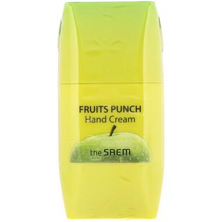 The Saem, Fruits Punch Hand Cream, Apple, 1.69 fl oz (50 ml)