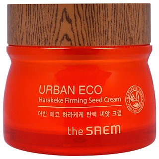 The Saem, Urban Eco Harakeke,  Укрепляющий Крем с Экстрактом Семян, 2,7 жидких унций (80 мл)