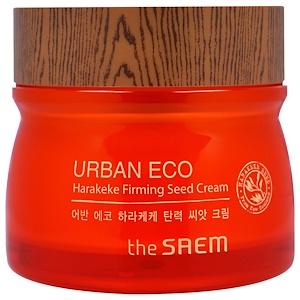 The Saem, Urban Eco Harakeke, Укрепляющий Крем с Экстрактом Семян, 2,7 жидких унций (80 мл) купить на iHerb