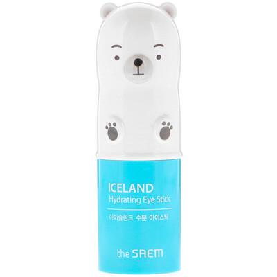 Купить The Saem Iceland, увлажняющий стик для глаз, 0, 24 унц. (7 г)