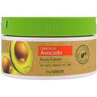 The Saem, Крем для тела, уход с авокадо, 10,14 жидких унций (300 мл)