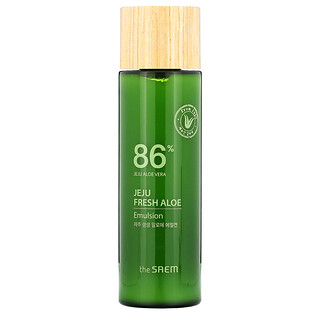 The Saem, Jeju Fresh Aloe, 86% Aloe Vera Emulsion, 5.24 fl oz (155 ml)