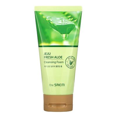 Купить The Saem Jeje Fresh Aloe, Cleansing Foam, 5.29 oz (150 g)