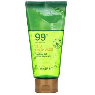 The Saem, Jeju Fresh Aloe, 99% Aloe Vera Soothing Gel, 10.14 fl oz (300 ml)