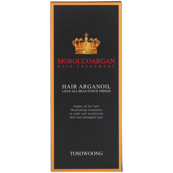 Tosowoong, Morocco Argan Hair Oil Treatment, 100 ml