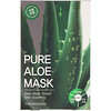 Tosowoong, Pure Aloe Mask, 10 Masks, 23 g Each