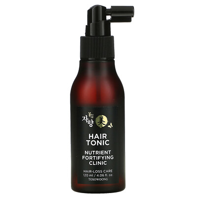 Tosowoong Hair Tonic, Nutrient Fortifying Clinic, Hair-loss Care, 4.06 fl oz (120 ml)