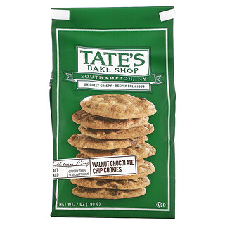 Tate's Bake Shop, Cookies, Walnut Chocolate Chip, 7 oz (198 g)