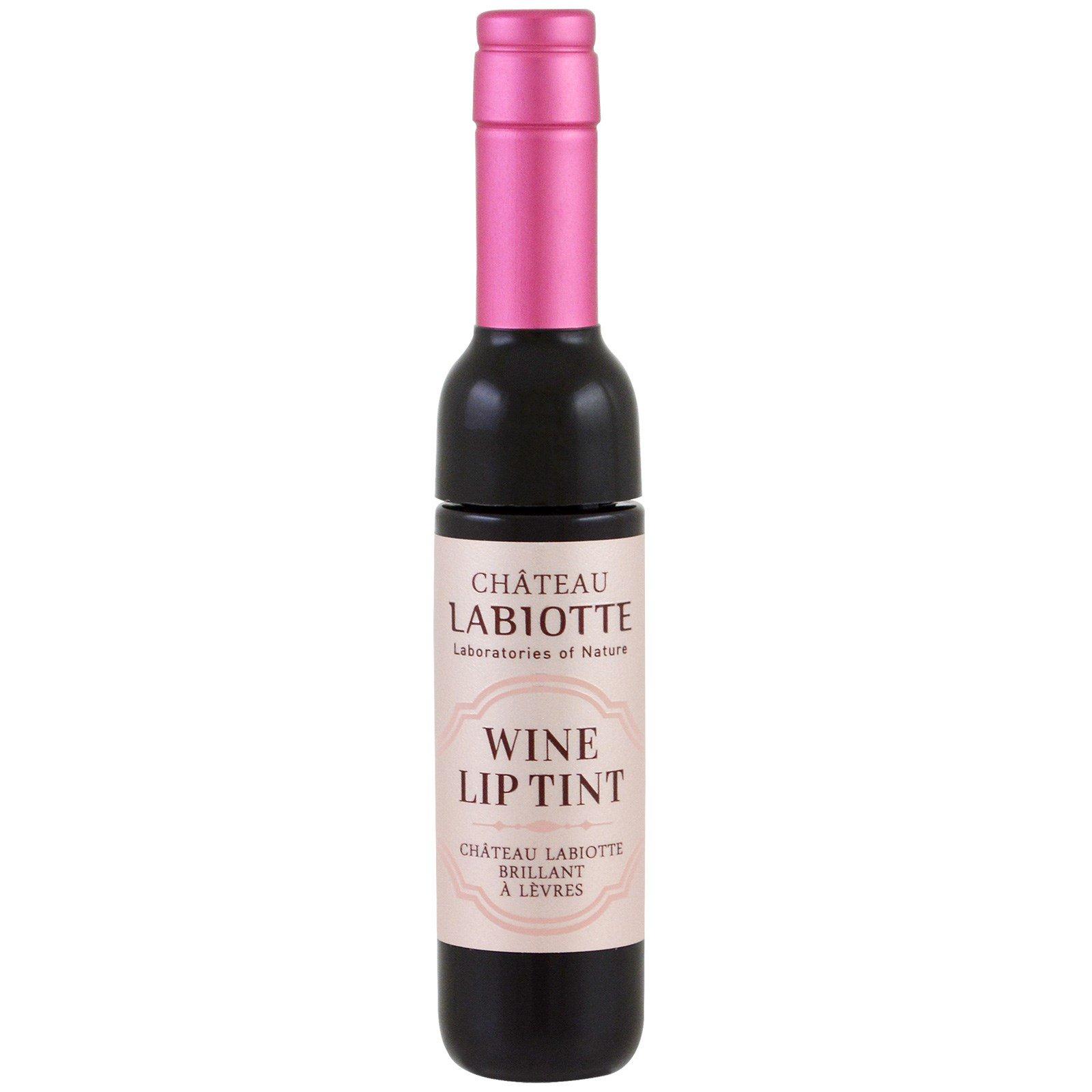 Chateau Labiotte, Вино-лиловый оттенок, PK01 розовая румяна, 7 г